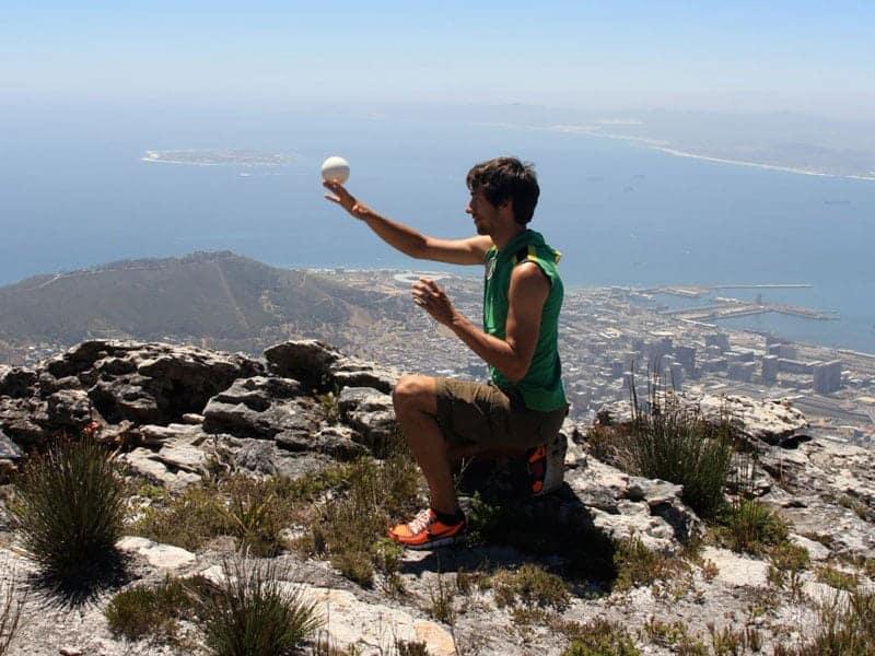 Jonglieren auf dem Tafelberg 2