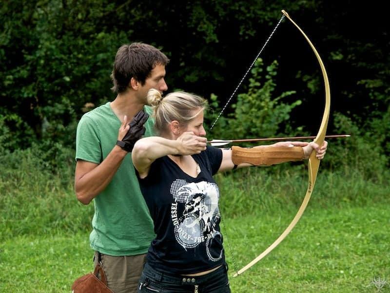 Intuitives Bogenschießen lernen