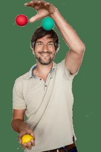 Jonglieren lernen mit Michael Fuchs
